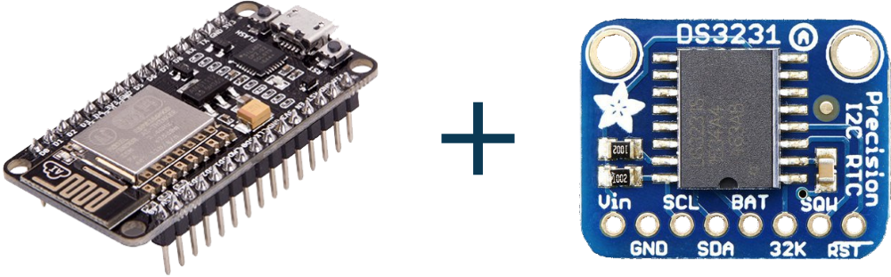 Learn interfacing DS3231 RTC Module with NodeMCU